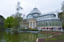 Parque del retiro, le Palacio de Cristal