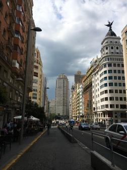Gran Via, vu sur Plaza de España
